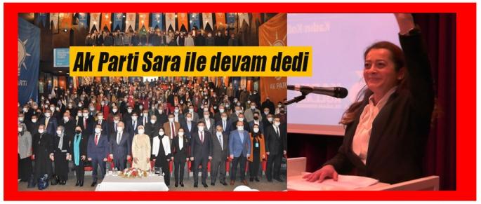 Ak Parti Zelal Sara ile devam dedi