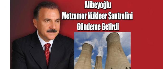 Alibeyoğlu, Metzamor Nükleer Santralini Gündeme Getirdi