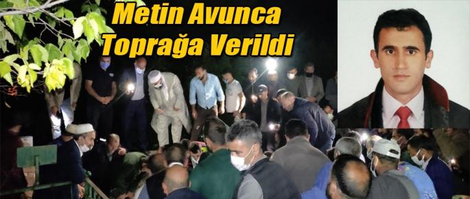 Avukat Metin Avunca Kağızman'da toprağa verildi