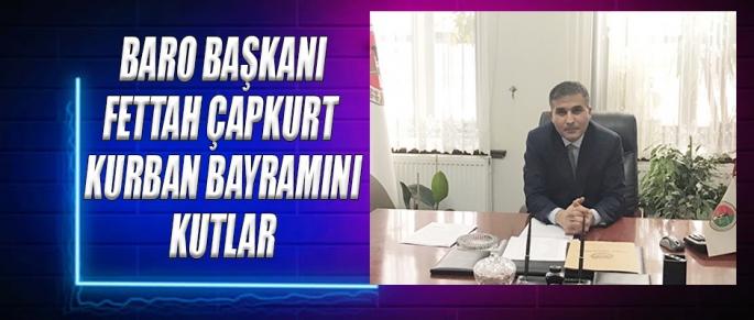 Baro Başkanı Çapkurt, Kurban Bayramı Mesajı
