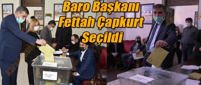 BARO BAŞKANLIĞINA ÇAPKURT SEÇİLDİ