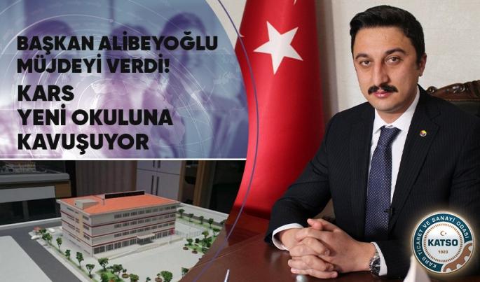 Başkan Alibeyoğlu; Kars'a 24 derslik okul yapılıyor