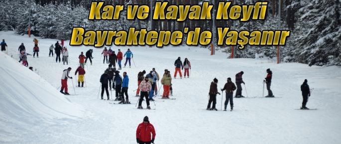 Bayraktepe'de Kayak Keyfi