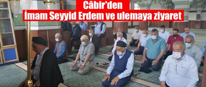 Câbir'den İmam Seyyid Erdem ve ulemaya ziyaret