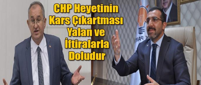 Çalkın; CHP Yalan ve İftiralarla doludur
