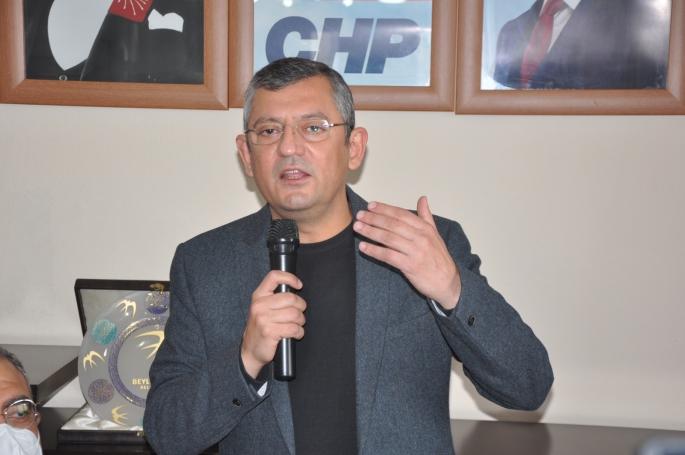 CHP'li Özel Cumhurbaşkanı Adayımız Sensin dedi