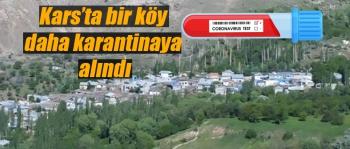 GÜNİNDİ KARANTİNAYA ALINDI