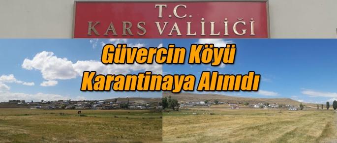 Güvercin Köyü karantinaya alındı