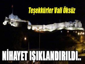 KARS KALESİ NİHAYET IŞIKLANDIRILDI