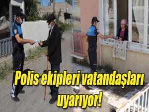 KARS POLİSİ VATANDAŞLARI UYARIYOR AMAN DİKKAT!