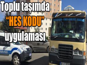 KARS'TA TOPLU TAŞIMA ARAÇLARINDA