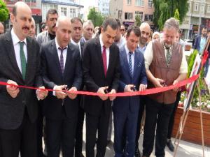 Kars'ta Toplum Ruh Sağlığı Merkezi Sergisi Açıldı.