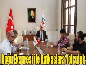 """KORELİ TURİSTLER """"DOĞU EKSPRESİ İLE KAFKASLARA YOLCULUK"""" YAPACAK"""