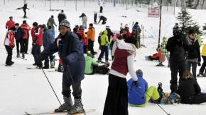 Kartepe Kayak Merkezi'nde yarıyıl yoğunluğu