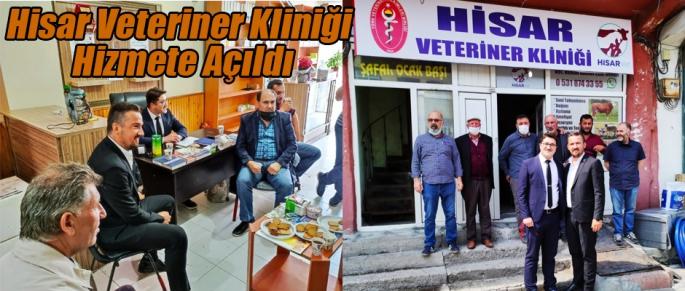 Hisar Veteriner Kliniği Hizmete Açıldı