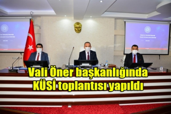 Ardahan'da KÜSİ toplantısı yapıldı