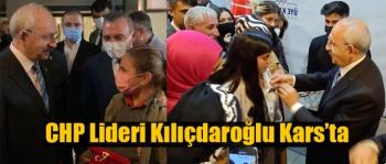 CHP Genel Başkanı Kılıçdaroğlu Kars'ta Vatandaşlarla Buluştu