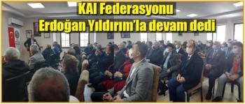 KAI Federasyonu Erdoğan Yıldırım'la devam dedi
