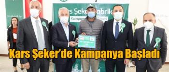 Kars Şeker Fabrikasında Kampanya Başladı