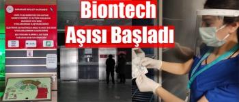 Kars'ta Biontech Aşısı Başladı