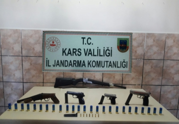 Kars'ta Silah Operasyonu