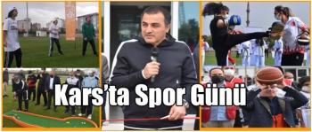 KARS'TA SPOR GÜNÜ