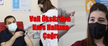 Vali Türker Öksüz'den Kars Halkına Çağrı
