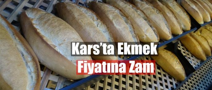 KARS'TA EKMEK FİYATINA ZAM YAPILDI