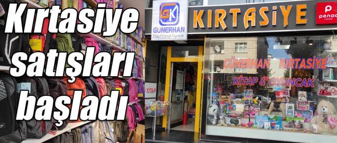 Kars'ta Kırtasiye Satışları Başladı