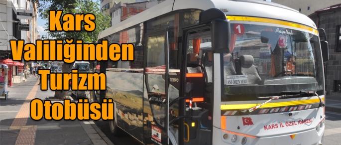 Kars Valiliğinden Turizm Otobüsü