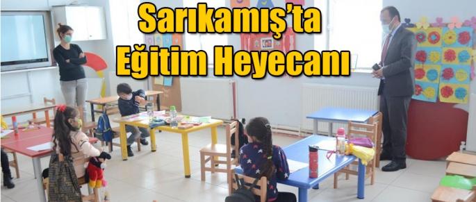 SARIKAMIŞ'TA EĞİTİM HEYECANI