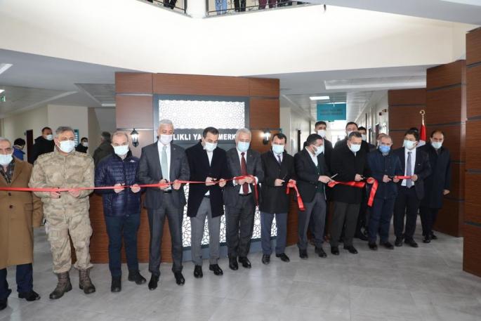 Yusufpaşa Aile Sağlığı Merkezi'nin açılışı yapıldı