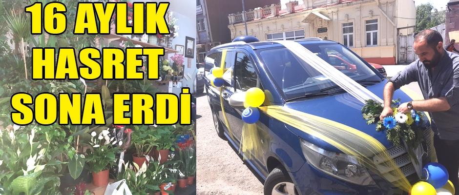 16 AYLIK HASRET SONA ERDİ