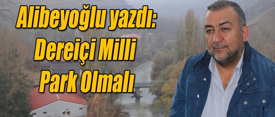 Alibeyoğlu; Dereiçi Milli Park Olmalı
