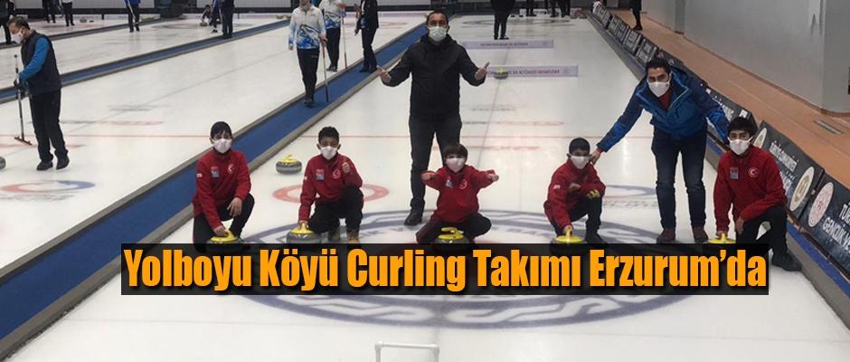 Yolboyu Köyü Curling takımı Erzurum'da